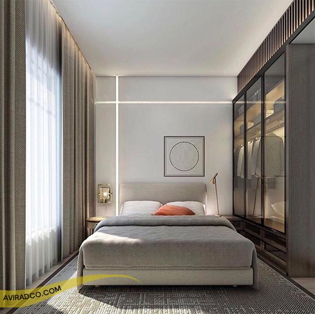 اتاق خوابت رو بزرگ تر نشون بده