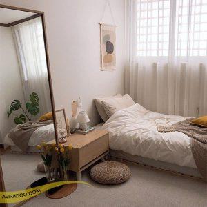 پردا اتاق خواب کوچک