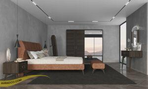 پاف کنار تخت